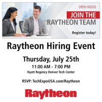Interview on July 25th with Raytheon