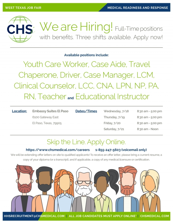 CHSi El Paso TX Recruiting Fair 18Jul18 002