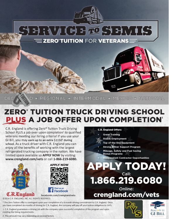 Seeking Class A CDL Drivers Ex Military Jobs